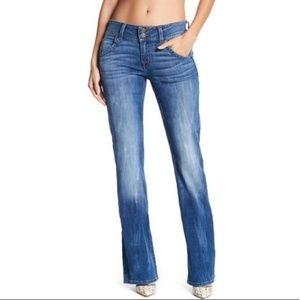 Hudson Signature Medium Wash Bootcut Jeans